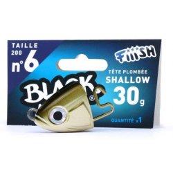 Black Minnow 120 Cabeza Shallow 6g Kaki/silver