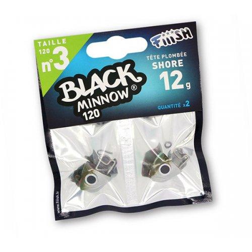 Black Minnow 120 Cabeza Shore 12g Kaki/silver