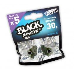 Black Minnow 160 Cabeza Shore 30g Kaki/silver