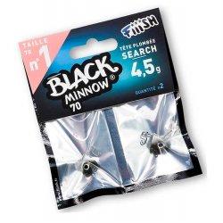 Black Minnow 70 Cabeza Search 4,5g Kaki/silver