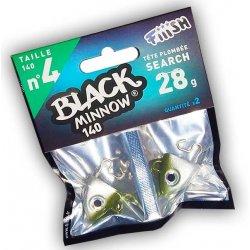 Black Minnow 140 Cabeza Search 28g Kaki/silver