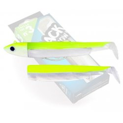 Black Minnow 120 Combo Off Shore 25g Yellow Fluo