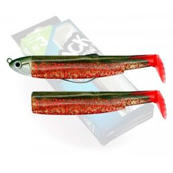 Black Minnow 120 Combo Shallow 6g kaki/red