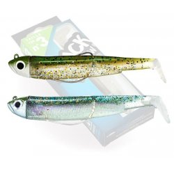 Black Minnow 120 Double Combo Shore 12g Kaki paillete - Ghost minnow