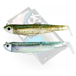Black Minnow 70 double combo shore 3gr Kaki - Ghost Minnow