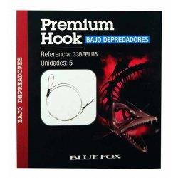 Bluefox 5 Bajos de fluorocarbono para depredadores
