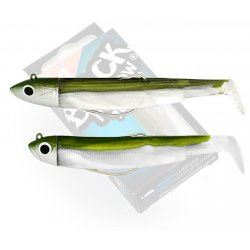 Black Minnow 70 double combo shore 3gr Kaki - off shore 6gr kaki