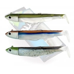 Fiiish Maxi combo 120 - 3 Black Minnows off shore 25 gramos