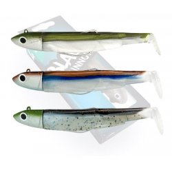 Fiiish Maxi combo 140 - 3 Black Minnows off shore 40 gramos