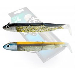 Black Minnow 140 Doble Combo Off Shore 40g Noir & Or - Or/Bleu