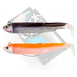 Black Minnow 70 double combo Search 4,5gr Sexy Brown - Orange
