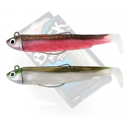 Black Minnow 70 double combo Search 4,5gr Rose- Kaki