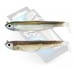 Black Minnow 90 doble combo shore 5gr Kaki - Macchiato