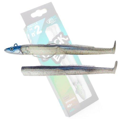 Fiiish Black EEL 110 Combo Shore 8gr Electic Blue