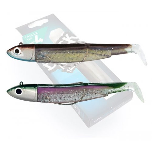 Black Minnow 140 Doble Combo Off Shore 40g Sexy Brown - Green Morning