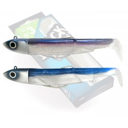 Black Minnow 120 Double Combo Off Shore 25g Bleu / Electric Blue
