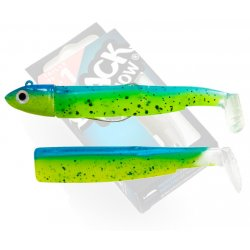 Black Minnow 70 Combo Off Shore 6g Green Glitter